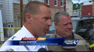 2 injured as building collapses on workersSubscribe to WTAE on YouTube now for more: http://bit.ly/1emyOjPGet more Pittsburgh news: http://www.wtae.com/Like us: http://www.facebook.com/wtae4Follow us: http://twitter.com/WTAEGoogle+: http://plus.google.com/+wtae