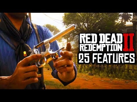 25 INTERESTING RDR2 GAMEPLAY FEATURES YOU MAY HAVE MISSED IN RED DEAD REDEMPTION 2 GAMEPLAY TRAILER!