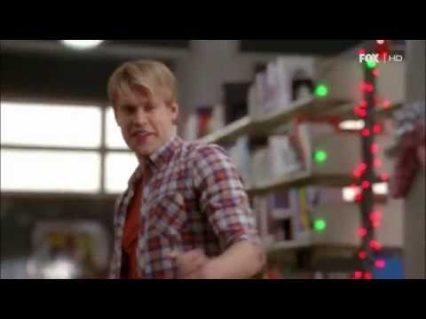 Glee 4.10 (Clip 'Jingle Bell Rock')