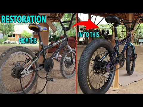 RESTORATION BMX BIKE CARIBOU