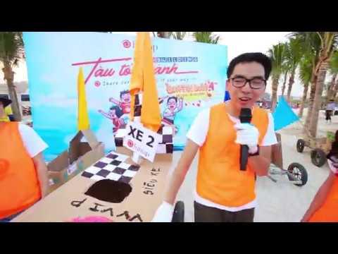 Team building đua xe F1 tại bãi biển Hạ Long