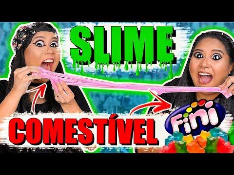 SLIME COMESTÍVEL DE FINI  Blog das irmãs