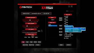 Fantech X4 Titan, X5 Zeus, X7  BLAST 'QUICK CHANGE' ShotGun Macro Setting [PointBlank]