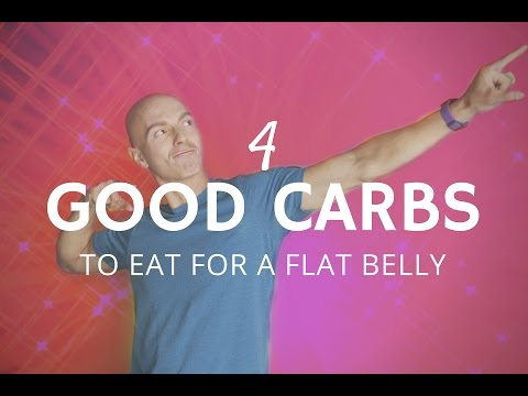 4 Good Carbs to Eat for A Flat Belly