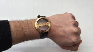 The Thomas Earnshaw Cornwall Bridge is a striking watch thanks to the movement. However, they market it as an automatic (which it isn't) and the crown is extremely hard to use for a hand wind only watch. Read the full review here: https://www.watchitallabout.com/thomas-earnshaw-cornwall-bridge-watch-review/