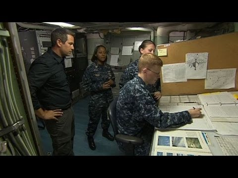 Bataan - Meteorologist Chris Warren is on board the USS Bataan learning about how the U.S. Navy is preparing for the 2013 hurricane season.