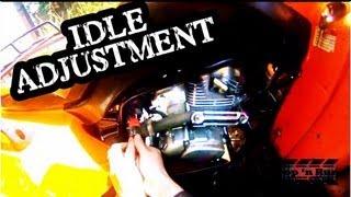 7. ATV Carburetor Idle Adjustment Fix