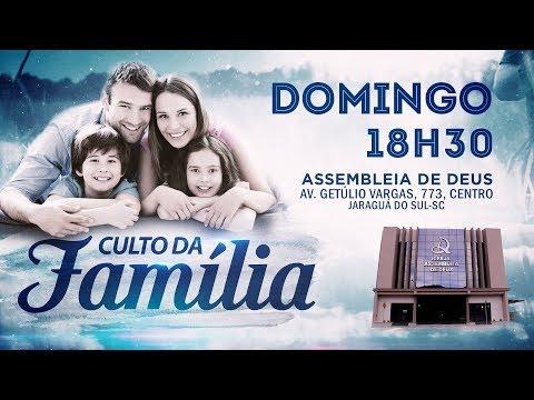 Pr. Manaceses Adão - Culto da Família - 28/01/2018