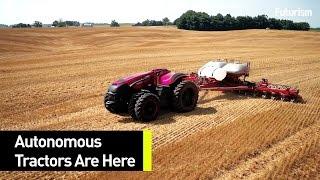 Veja a evolução dos tratores autônomos!!!