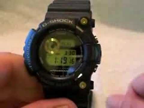 Casio G-shock GW225A-1 25th Anniversary Dawn Black Frogman