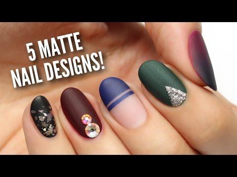 """nail art - 5 modi perfetti per un effetto """"matte"""""""