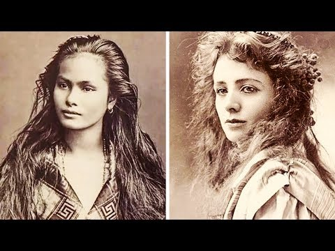 A beleza feminina no início do século 20