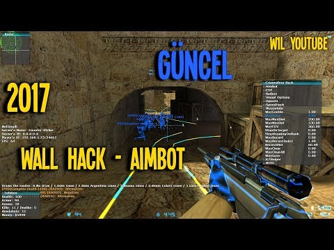 Counter Strike 1.6 Wall Hack - Aim 2017 GÜNCEL [AKTİF]