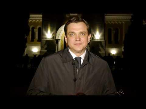 Юрій Павленко привіз на Житомирщину Благодатний вогонь