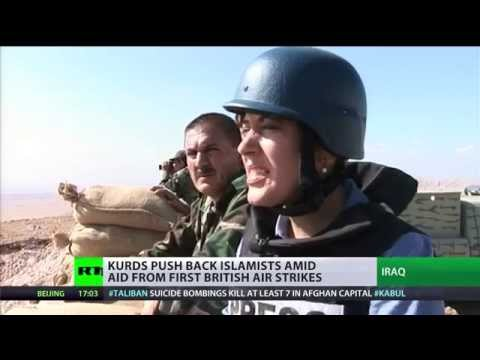from - RT's Paula Slier reports from the front line in Northern Iraq where Kurdish resistance fighters say they can beat Islamic State forces without help from foreign boots on the ground. RT LIVE...