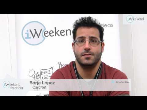 Entrevista a Borja López. Proyecto CARDNET. iWeekend-Valencia 2013