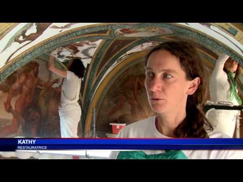 Les travaux de restauration de la Galerie Hercule se poursuivent au Palais princier