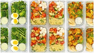 Vegetarian Meal Prep Recipes | Back to School + Healthy + Quick + Easy by The Domestic Geek