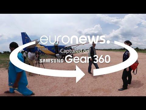 360 ° βίντεο: Ανθρωπιστική βοήθεια της Ε.Ε μέσω Echo flights στη Λαϊκή Δημοκρατία του Κονγκό