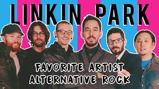Video LINKIN PARK AMAs 2017 SPEECH | FAVORITE ARTIST ALTERNATIVE ROCK WINNERS | DEDICATION TO CHESTER [HD] MP3, 3GP, MP4, WEBM, AVI, FLV Januari 2018