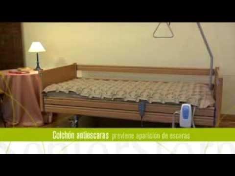 Colchón Antiescaras de Aire con Compresor Regulable