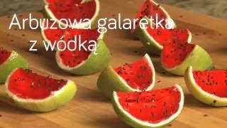 Arbuzowa galaretka z wódką