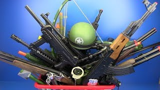 Video Box of Toys !!! Military & Police Guns Toys ! VIDEO FOR KIDS - What's in the box ? MP3, 3GP, MP4, WEBM, AVI, FLV Februari 2019