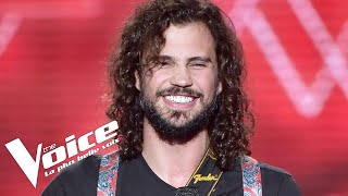 Video Depeche Mode (Personal Jesus) | Jorge Sabelico | The Voice France 2018 | Blind Audition MP3, 3GP, MP4, WEBM, AVI, FLV Agustus 2018