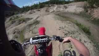 5. Honda CRF 150F / Sand pit ride.