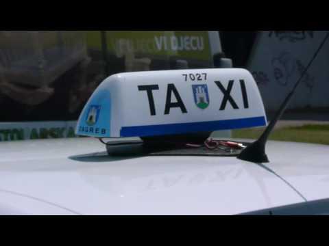 Taksistima-prosvjednicima slijede kazne od najmanje 300 kuna