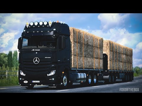 Mercedes Actros MP4 edit by Alex v1.4
