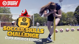 Copa América Challenge | DIZZY BAT PENALTIES! | Ep.1 by Whistle Sports