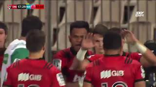 Crusaders vs Waratahs Rd.13 2018 Super Rugby video highlights