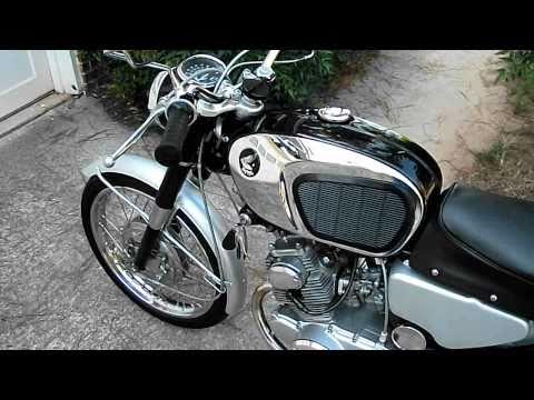 1964 Honda CB160 restoration nearly complete?