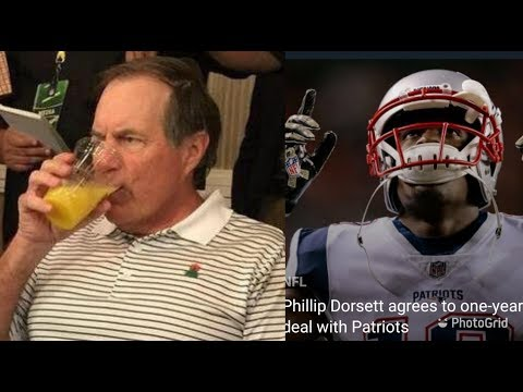 Breaking News!! Patriots re-signed Phillip Dorsett and Jason McCourty Reactions
