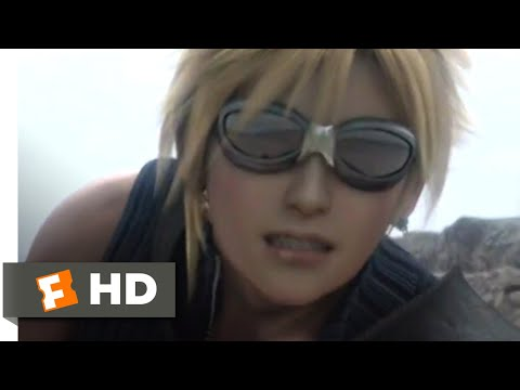 Final Fantasy VII (2006) - Shadow Creeper Chase Scene (1/10)   Movieclips