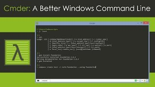 Cmder: A Better Windows Command Line