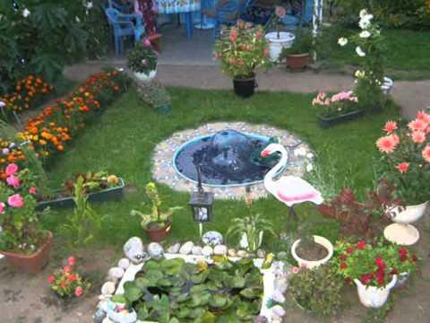 Смотреть как украсить сад видео