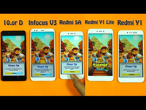 Redmi 5A vs Infocus Vision 3 Vs 10.or D Vs Redmi Y1 lite Vs Redmi Y1 Speed Test, Benchmark Scores