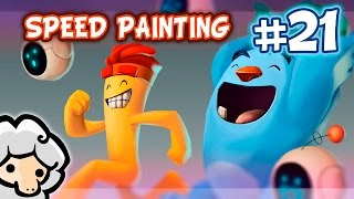 Nuevo speedpainting! Utilizando personajes propiedad de Super Happy Games. Pronto nuevos tutoriales!________________________________________________________________Facebook: http://goo.gl/BP8o5SDeviantart: http://goo.gl/yHKnGPwww.davidsheep.com_________________________________________________________________Photoshop CC Wacon Intuos Pro M4:45 horas_________________________________________________________________Música: Upbeat Ukulele Background Music - Sunny Side Up by Alumo