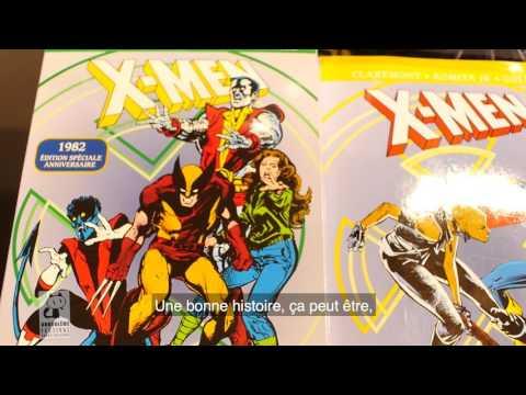 FIBD2017 : Chris Claremont scénariste des X-Mens