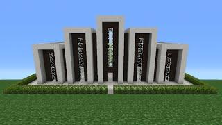 Minecraft Tutorial: How To Make A Miniature House - 5