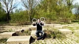 This Ring Juggling Is Almost Unreal...