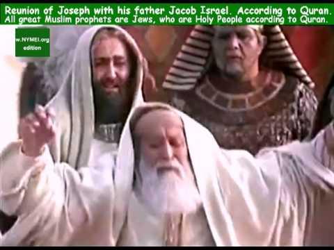 Prophet Yusuf's reuniun with Yakub Israel - lovely Quranic story