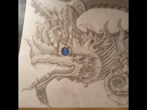 Naga drawing