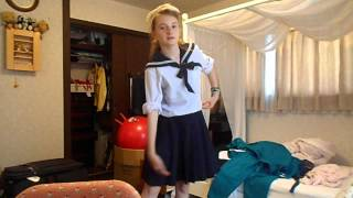Japan Vlog #9: My school uniforms!