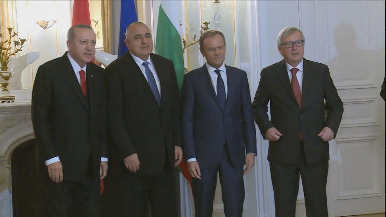 Συνάντηση ΕΕ-Τουρκίας στη Βάρνα