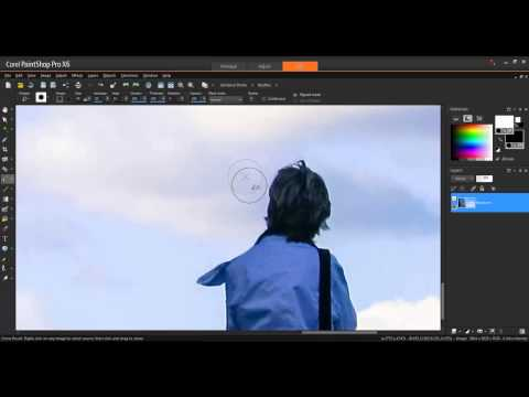 Using the Clone Brush in Corel PaintShop Pro X6