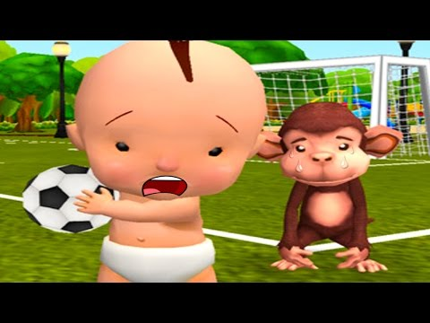 Fun Baby Learn To Be Polite And Share Playing In The Playground - Fun Education Ipad Games