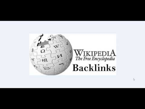Get a permanent backlink from WIKIPEDIA (Proven)